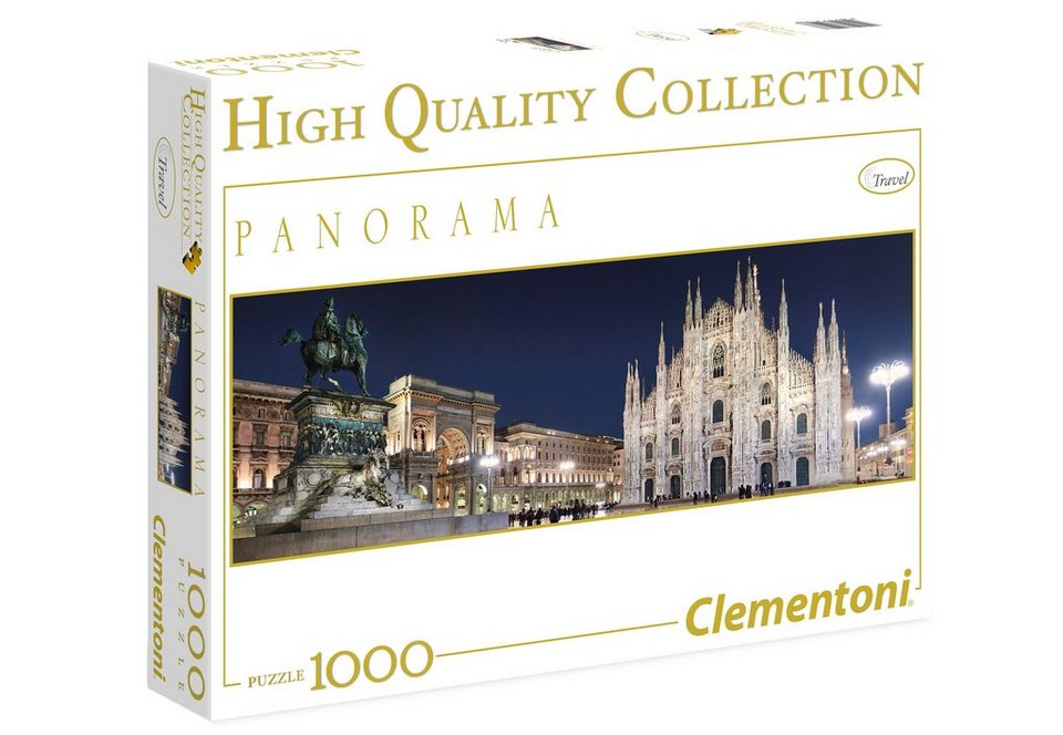 Clementoni Panorama-Puzzle, 1000 Teile, »Mailand«