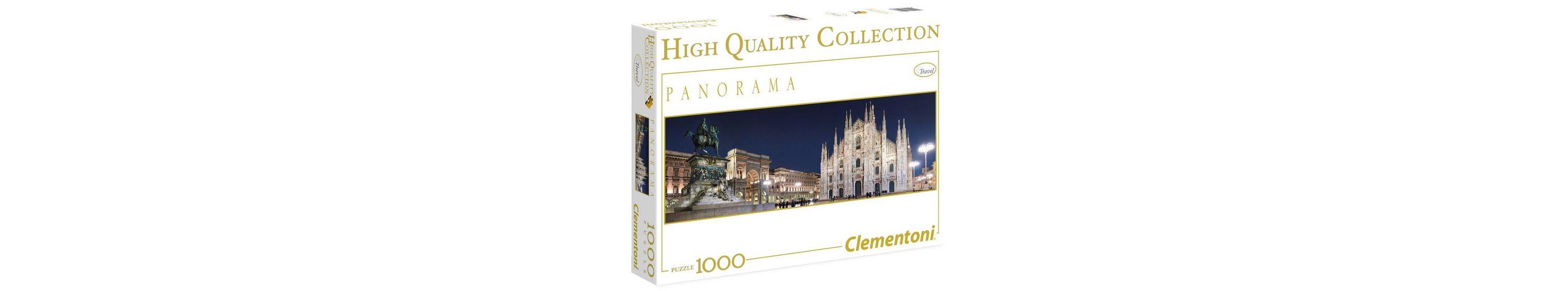 Clementoni Panorama-Puzzle, 1000 Teile, »Mailand«