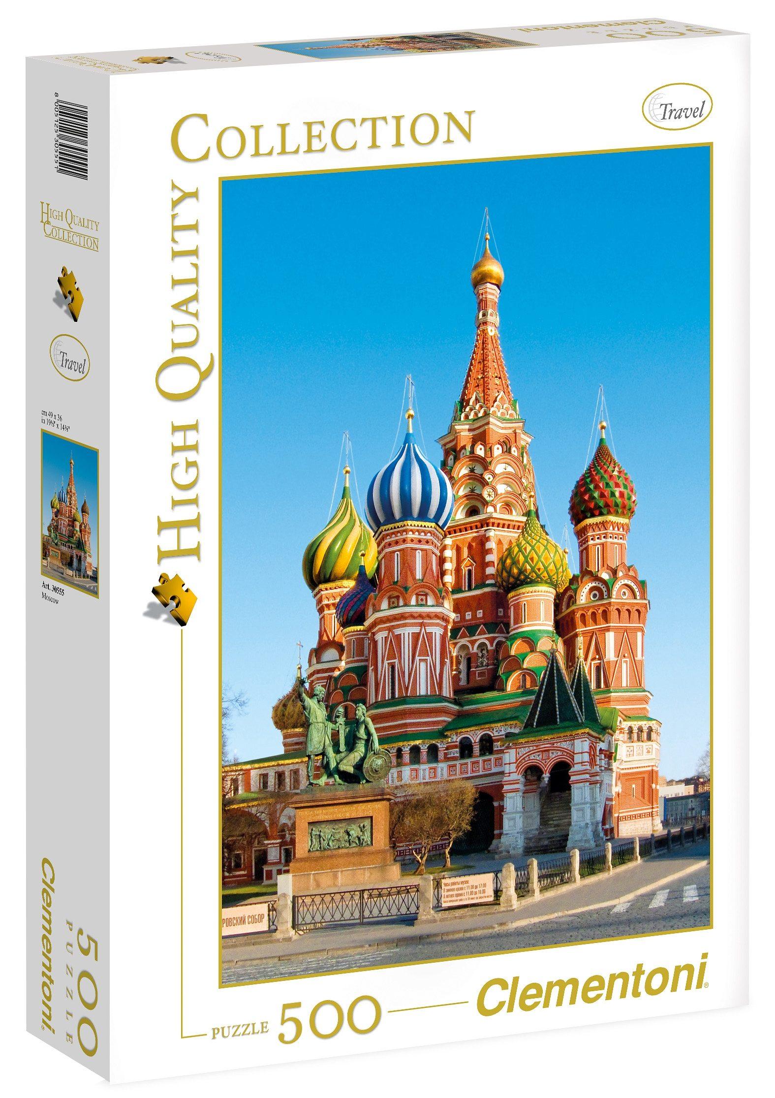 Clementoni Puzzle, 500 Teile, »Moskau«