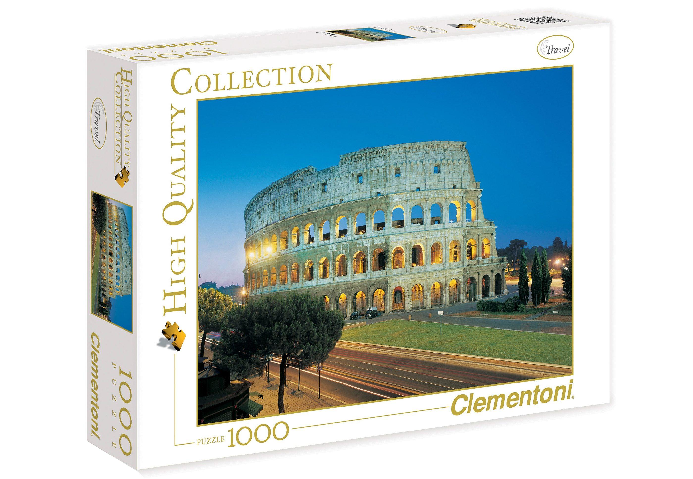 Clementoni Puzzle, 1000 Teile, »Kolosseum«
