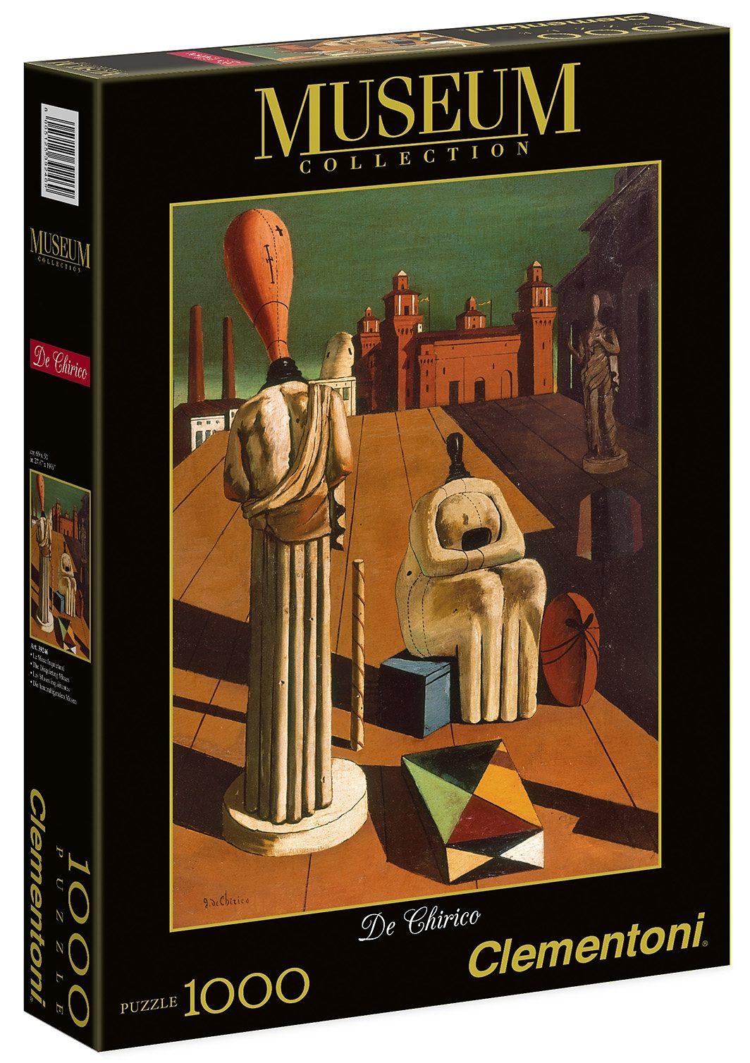 Clementoni Puzzle, 1000 Teile, »De Chirico - Die beunruhigenden Musen«