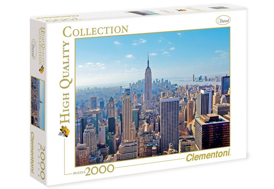 Clementoni Puzzle, 2000 Teile, »New York«