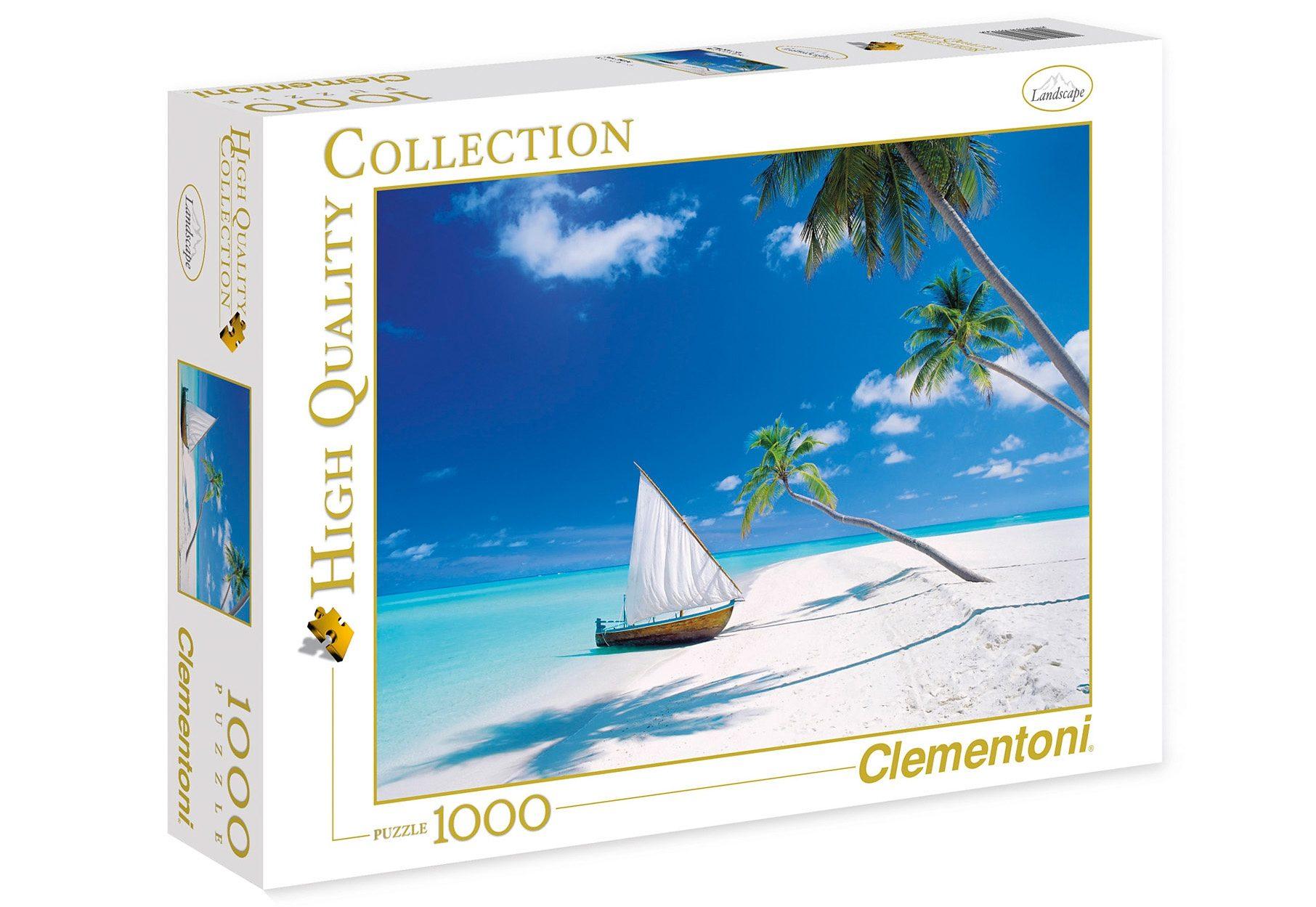Clementoni Puzzle, 1000 Teile, »Malediven«