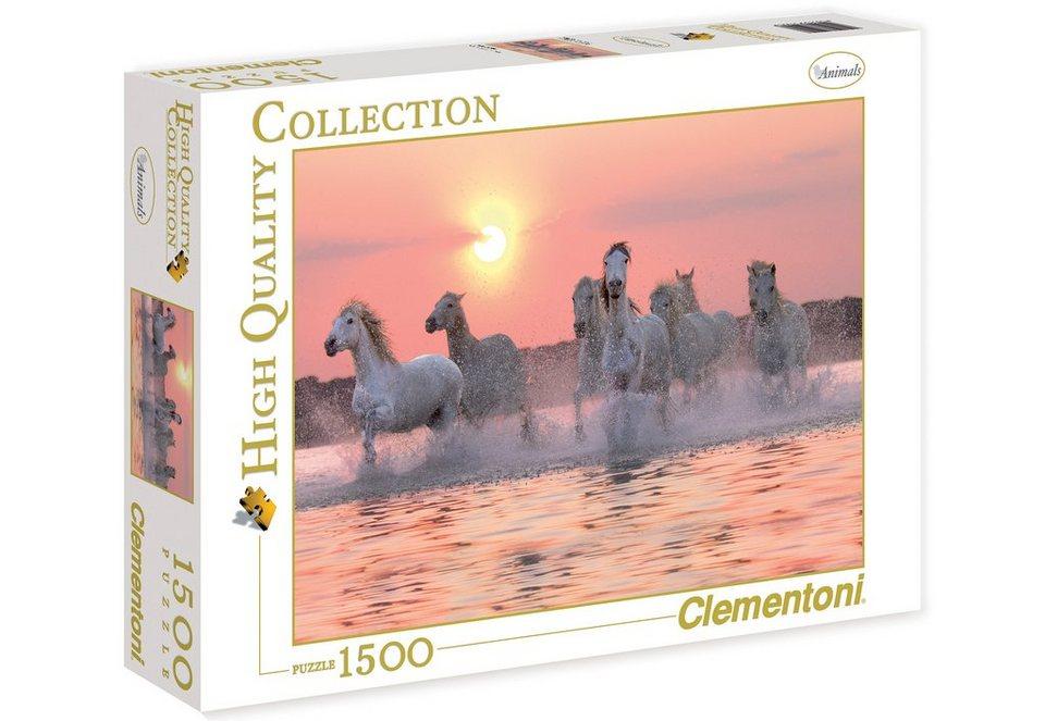 Clementoni Puzzle, 1500 Teile, »Camargue Pferde«
