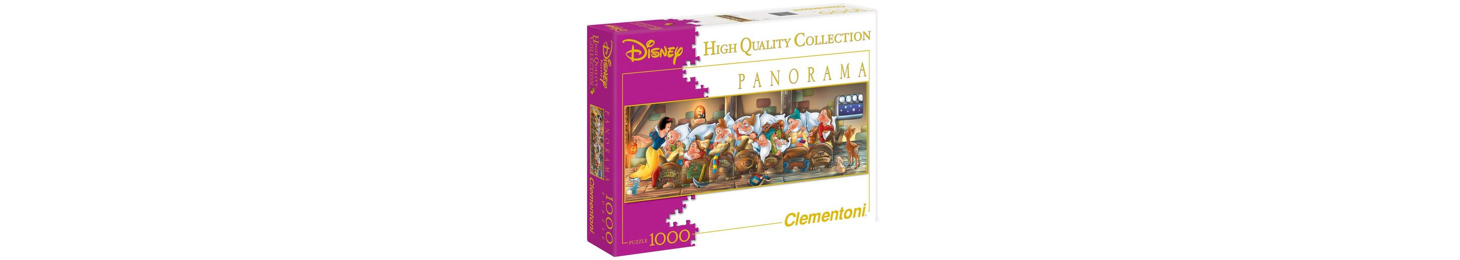 Clementoni Panorama-Puzzle, 1000 Teile, »Disney, Biancaneve«