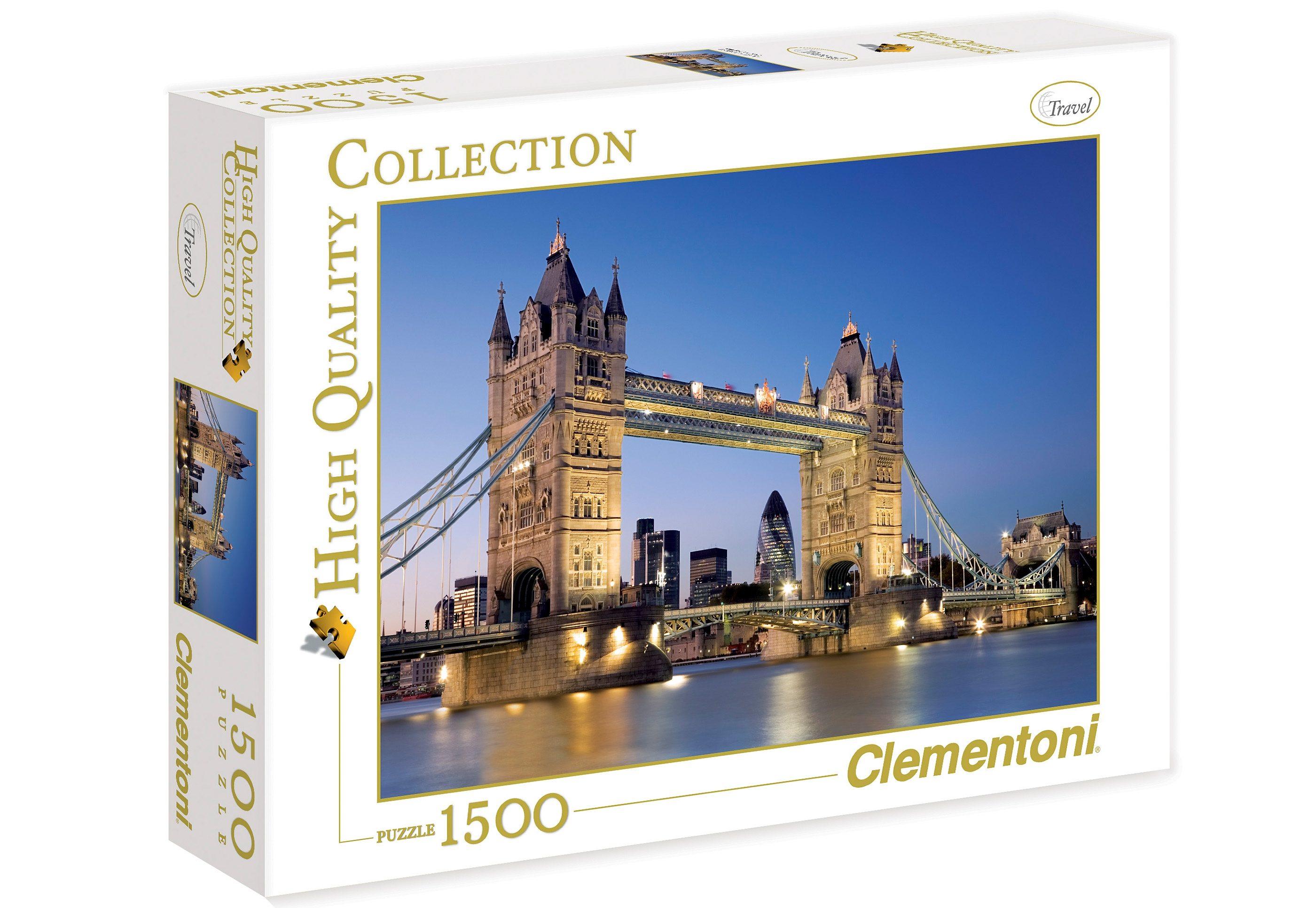 Clementoni Puzzle, 1500 Teile, »Tower Bridge«