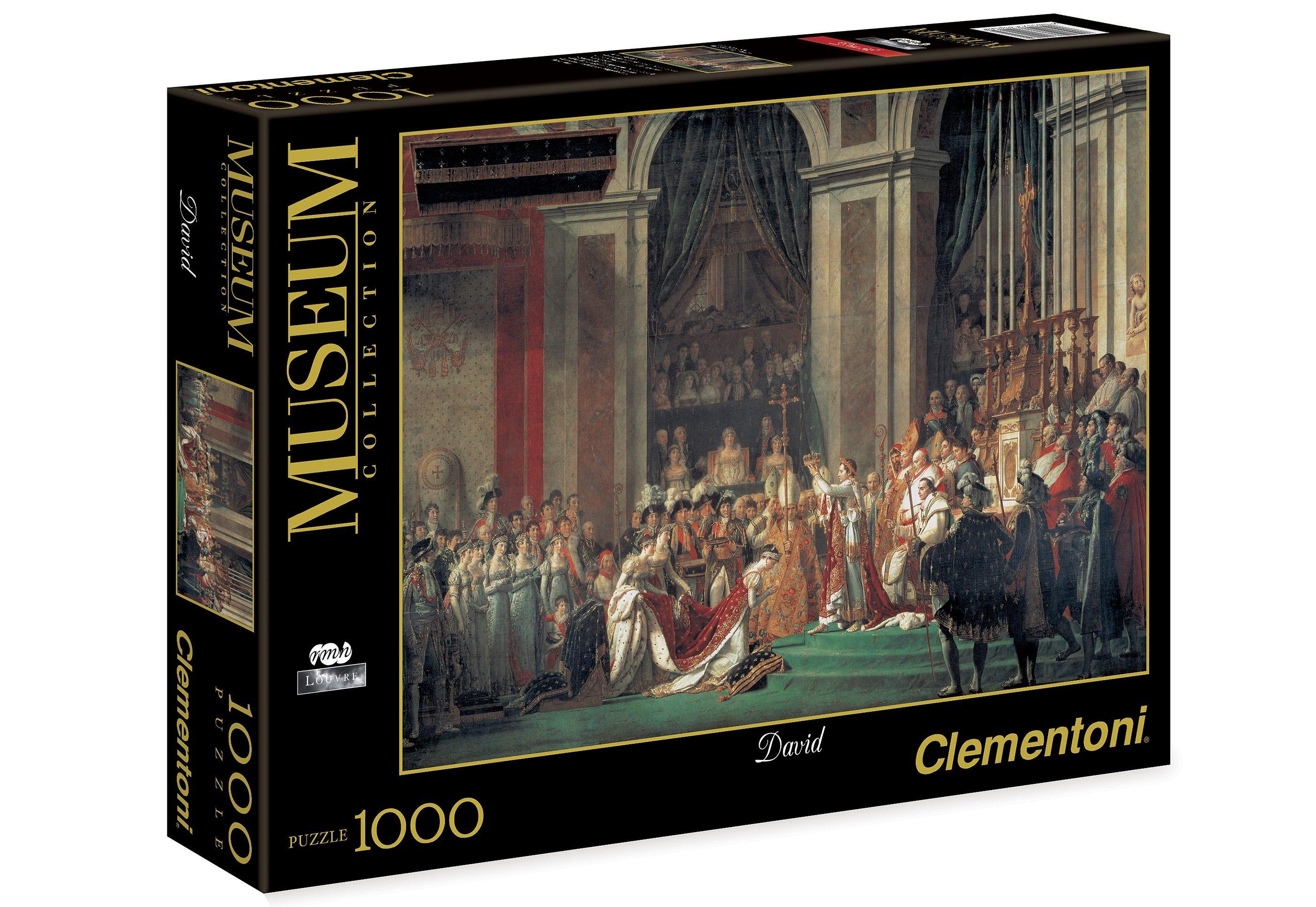 Clementoni Puzzle, 1000 Teile, »David, Die Konsekration Napoleons«