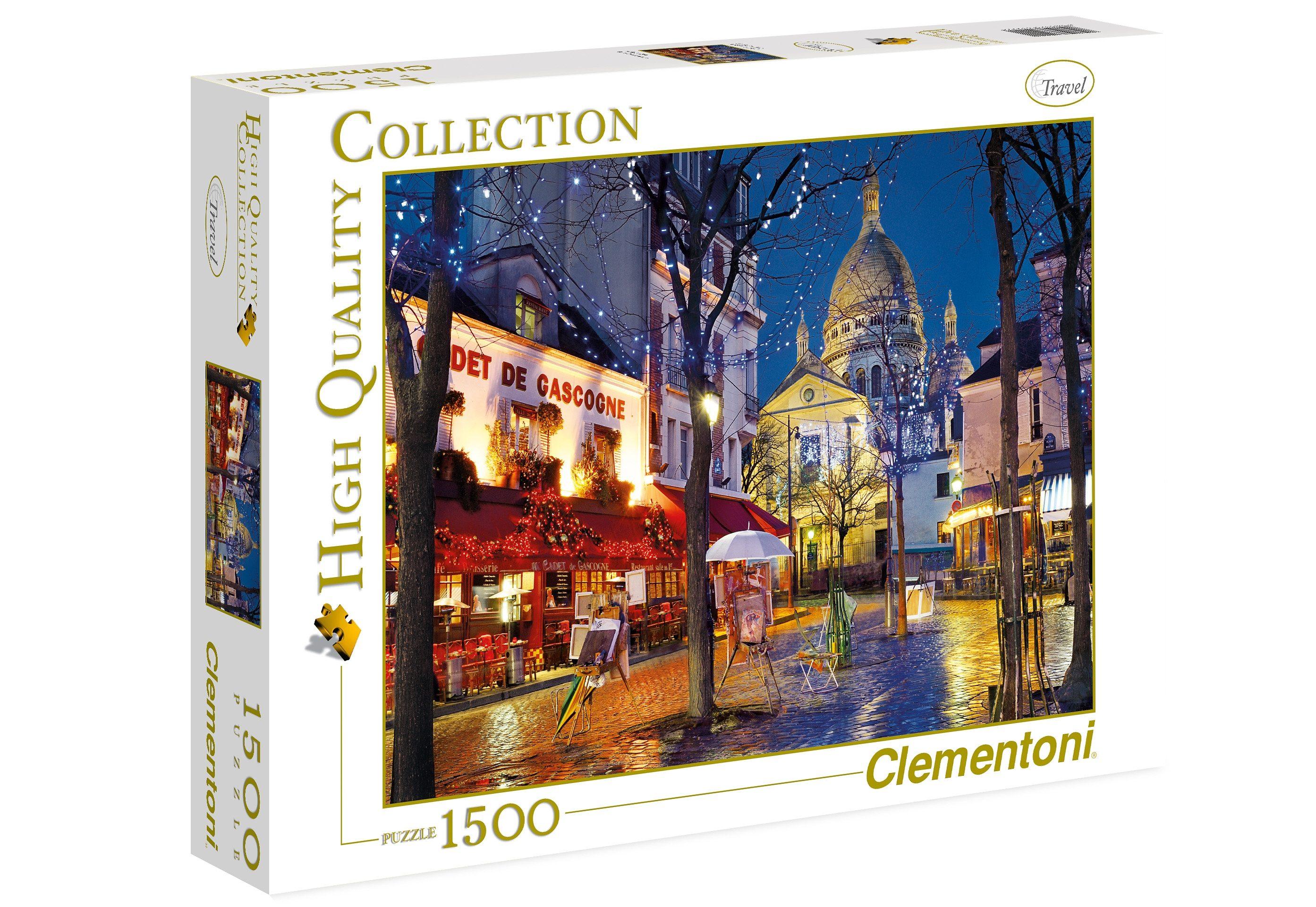 Clementoni Puzzle, 1500 Teile, »Paris, Montmartre«