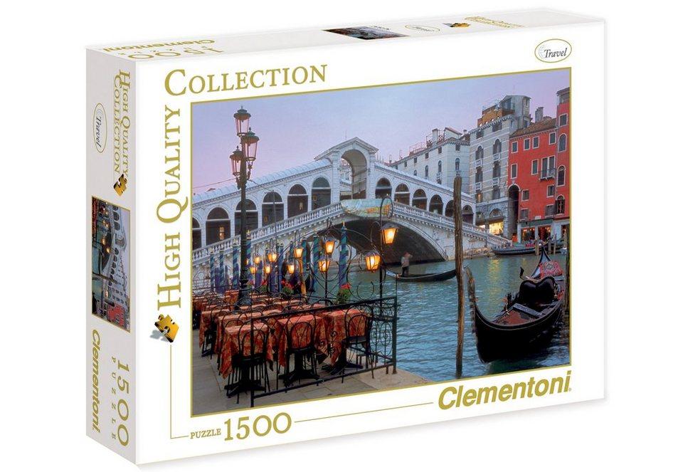Clementoni Puzzle, 1500 Teile, »Venezia«