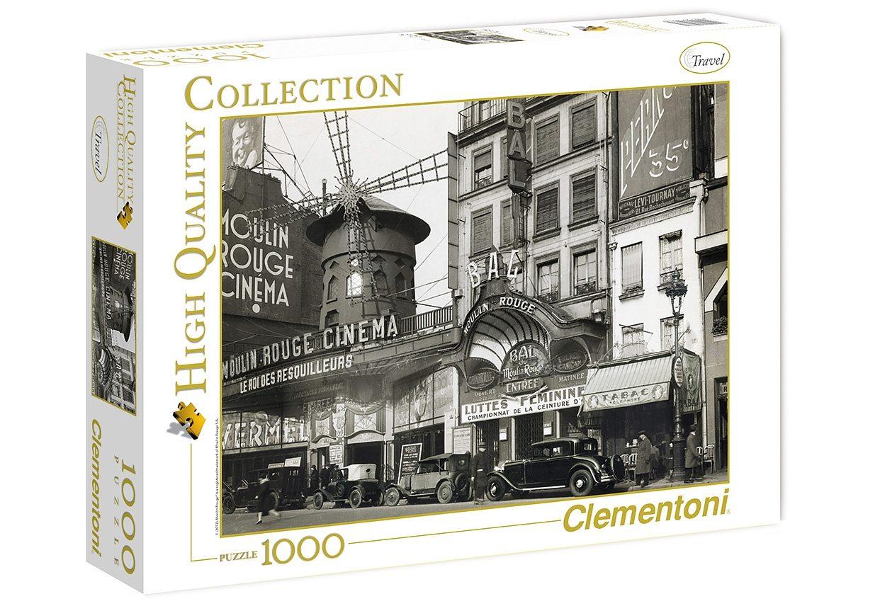 Clementoni Puzzle, 1000 Teile, »Bal du Moulin Rouge«