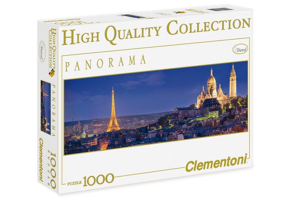 Clementoni Puzzle, 1000 Teile, »Abend in Paris«