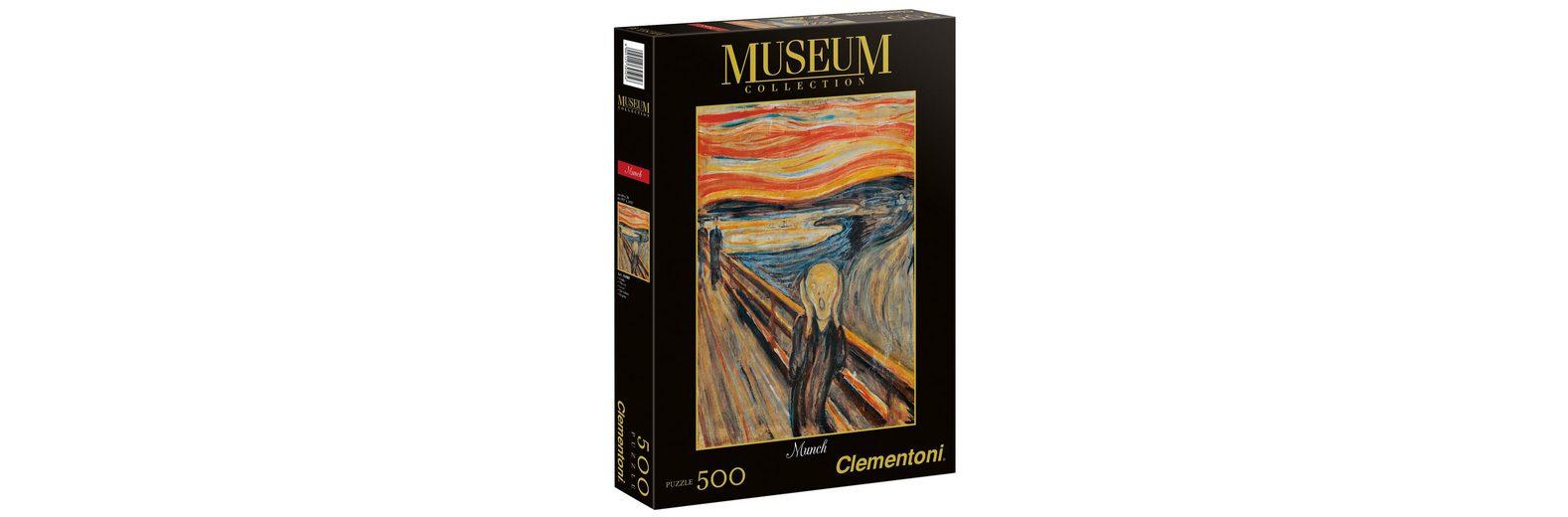 Clementoni Puzzle, 500 Teile, »Munch, Der Schrei der Natur«