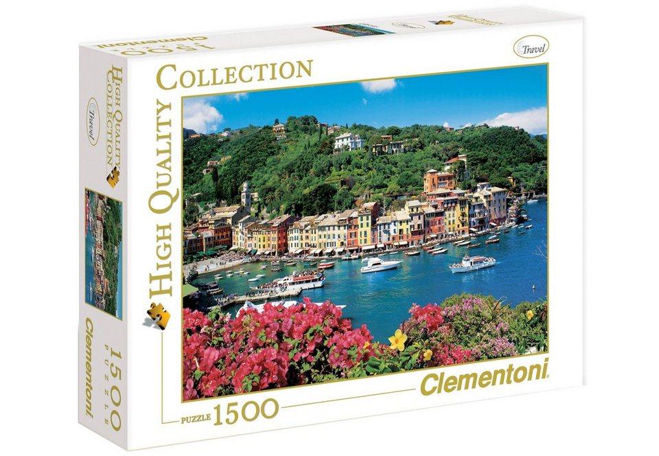 Clementoni Puzzle, 1500 Teile, »Portofino«