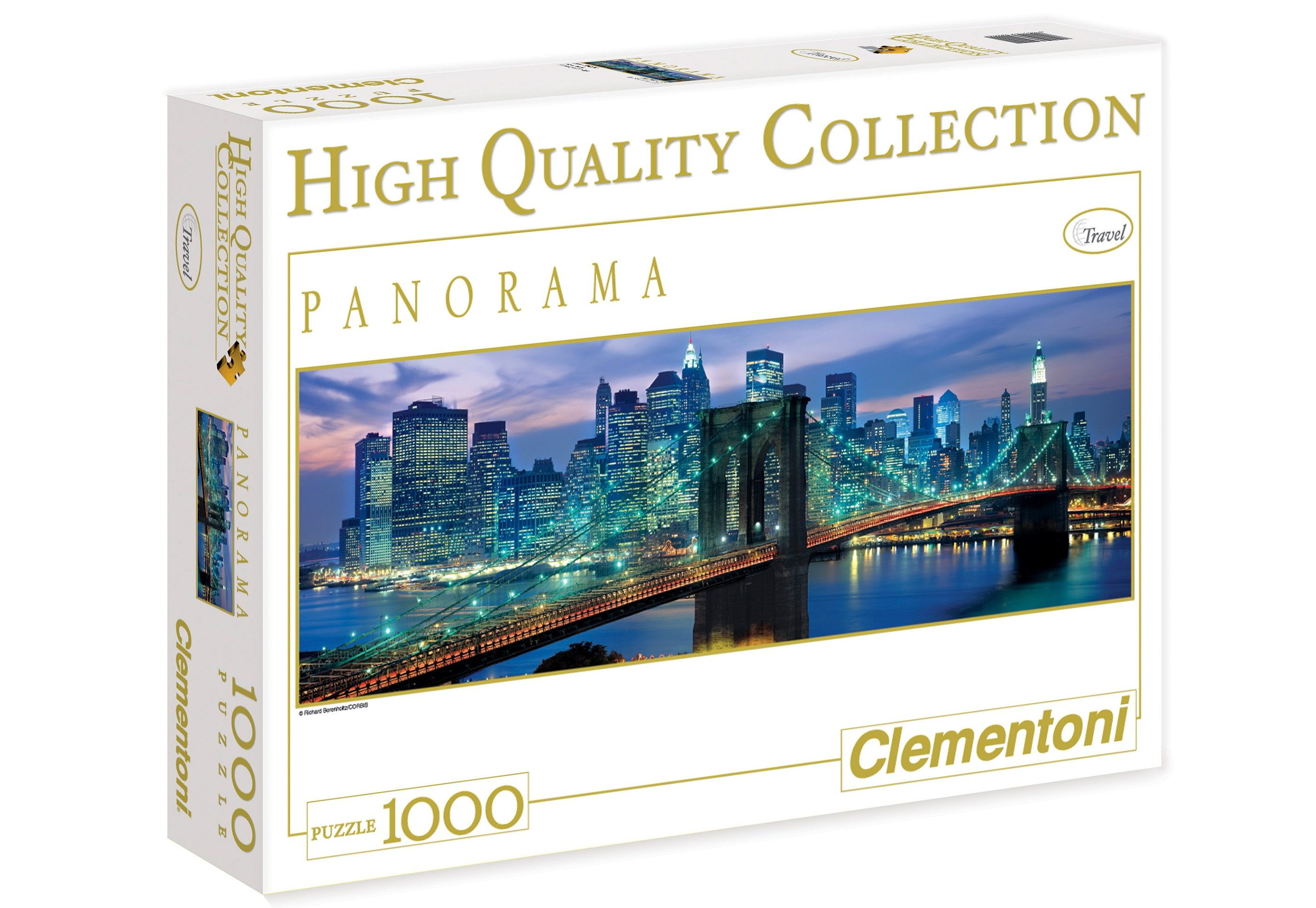 Clementoni Puzzle, 1000 Teile, »New York Brooklyn«
