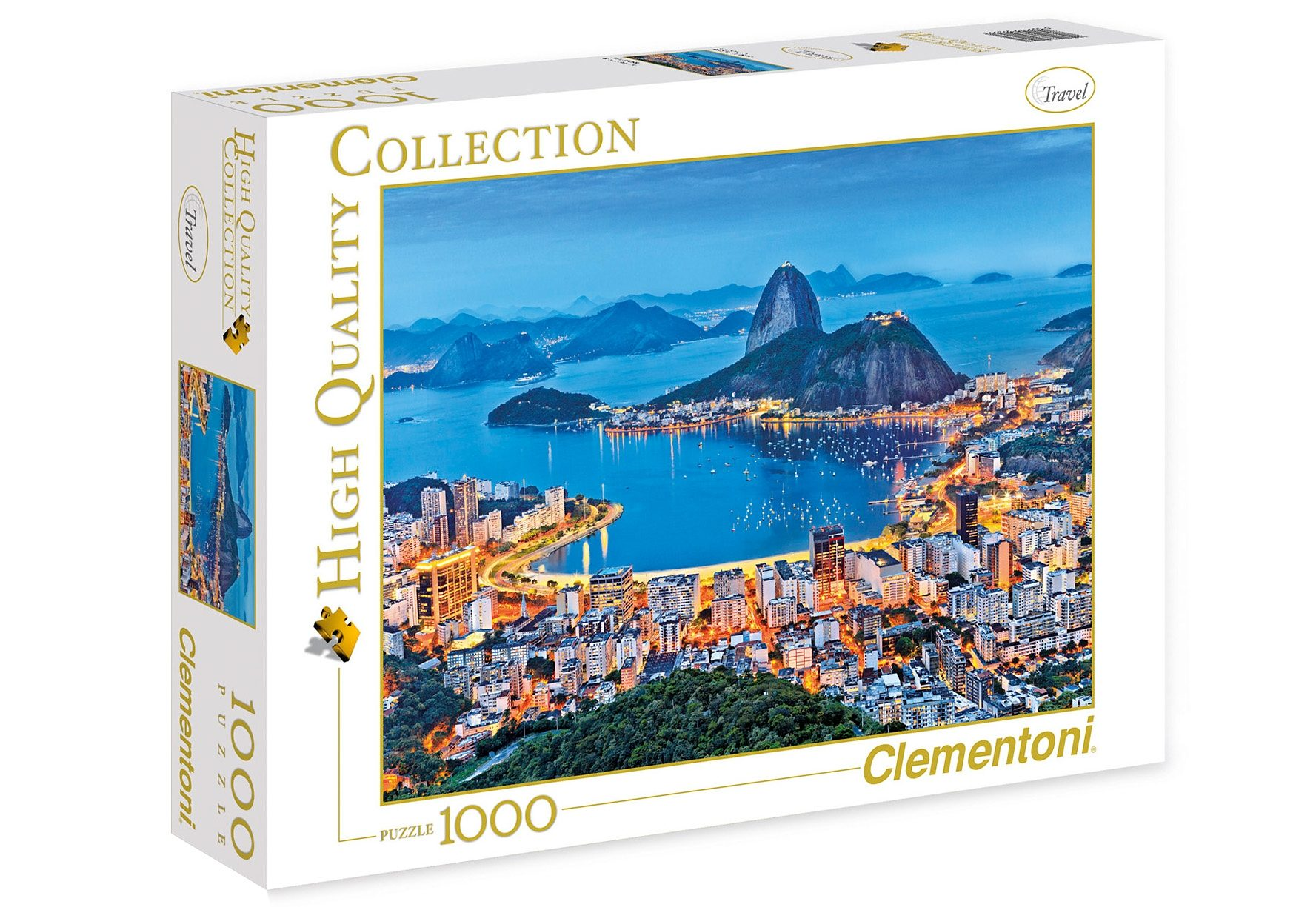 Clementoni Puzzle, 1000 Teile, »Rio De Janeiro«