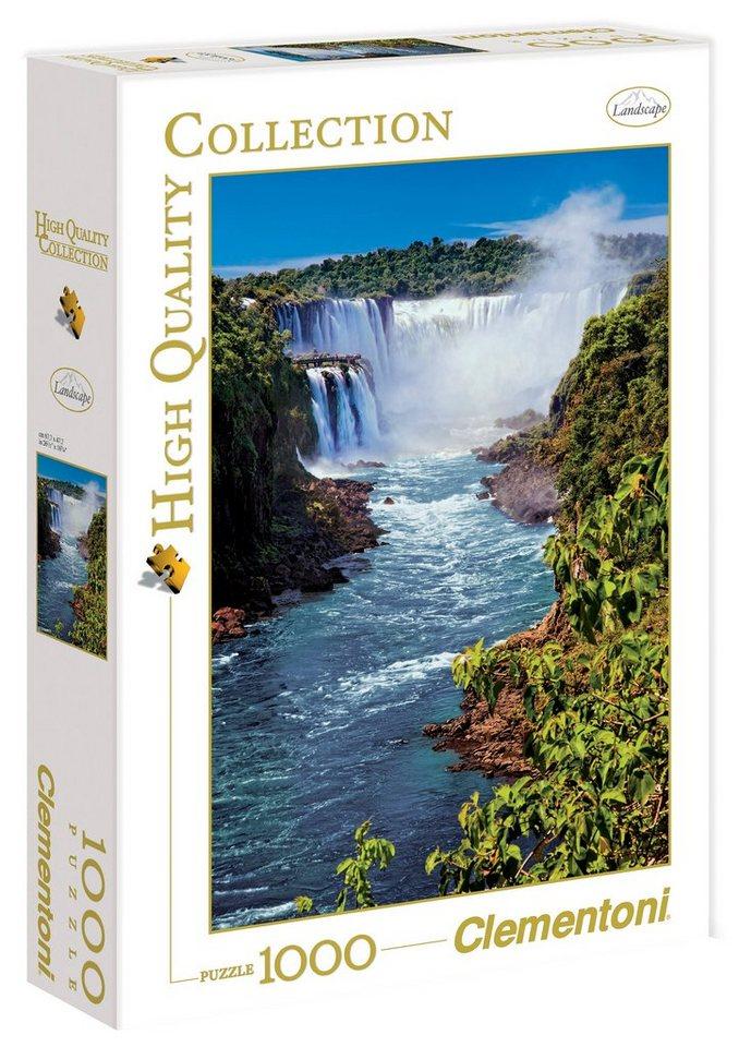 Clementoni Puzzle, 1000 Teile, »Iguazu Falls«