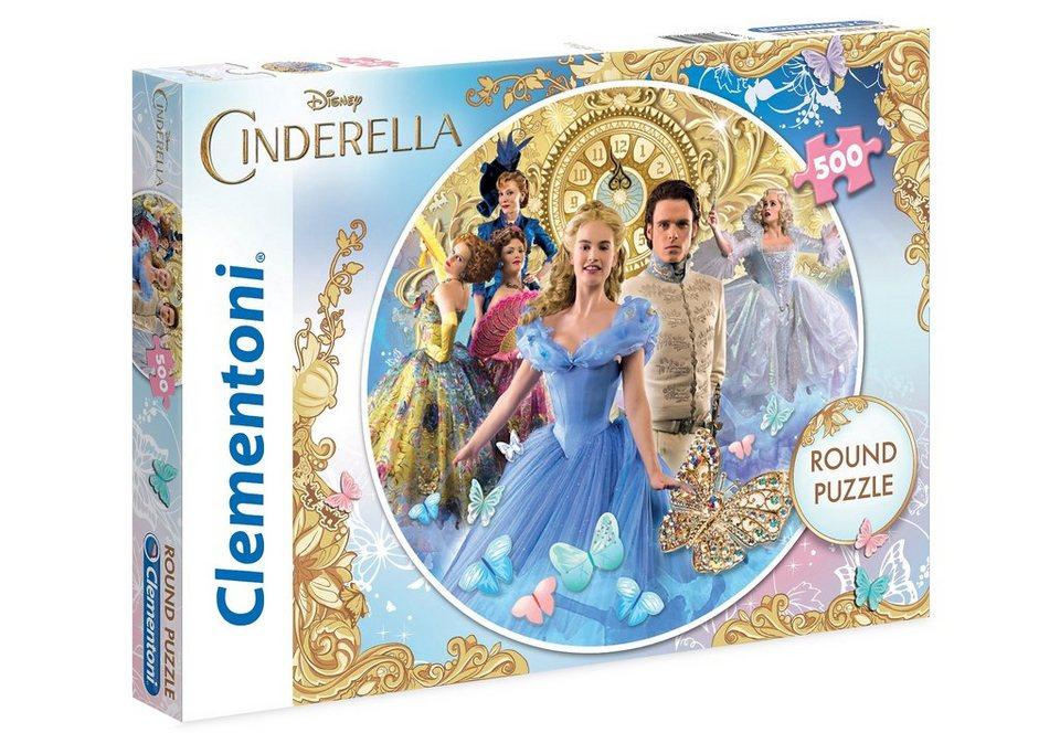 Clementoni Puzzle, 500 Teile, »Disney Cinderella«