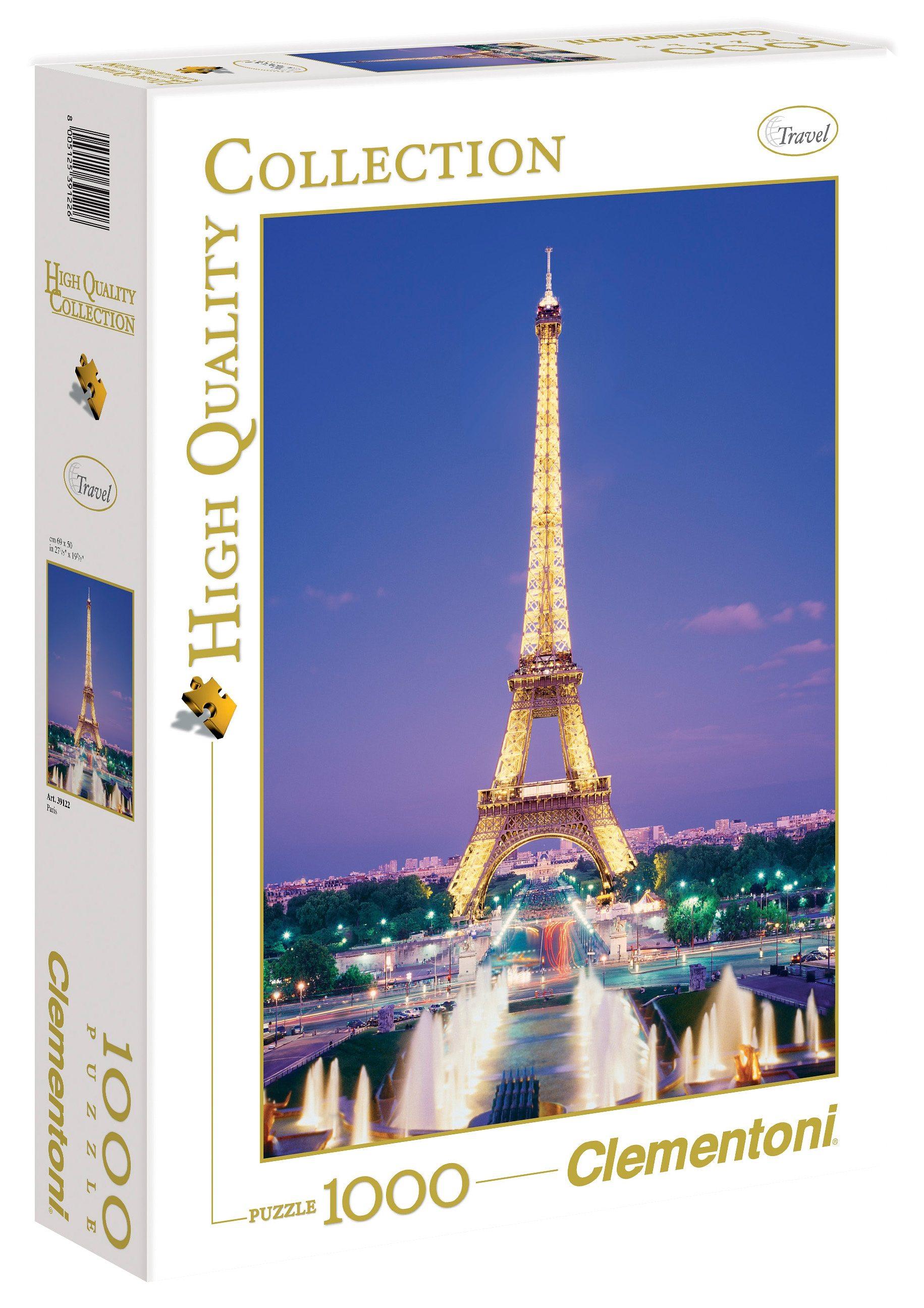 Clementoni Puzzle, 1000 Teile, »Paris«