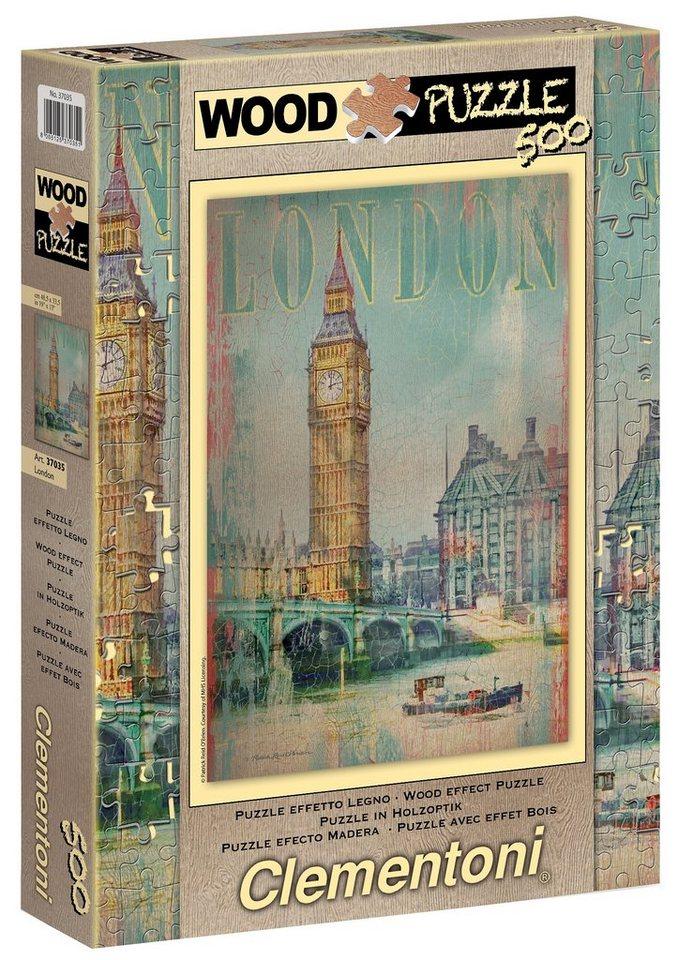 Clementoni Puzzle, 500 Teile, »London«