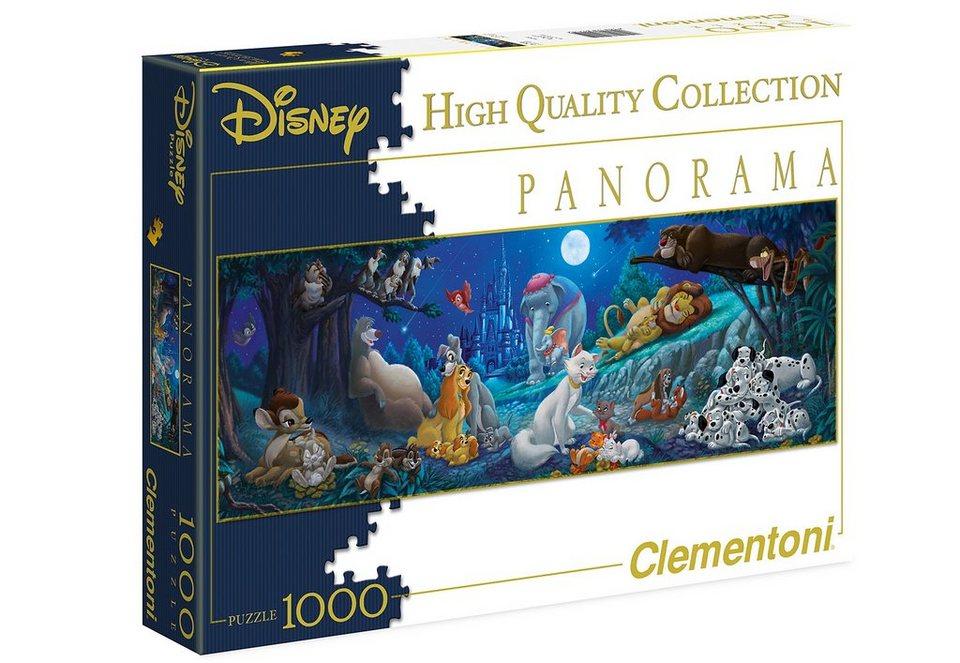 Clementoni Puzzle, 1000 Teile, »Sweet night«