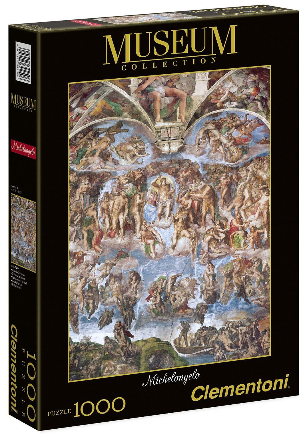 Clementoni Puzzle, 1000 Teile, »Michelangelo: Das Jüngste Gericht«