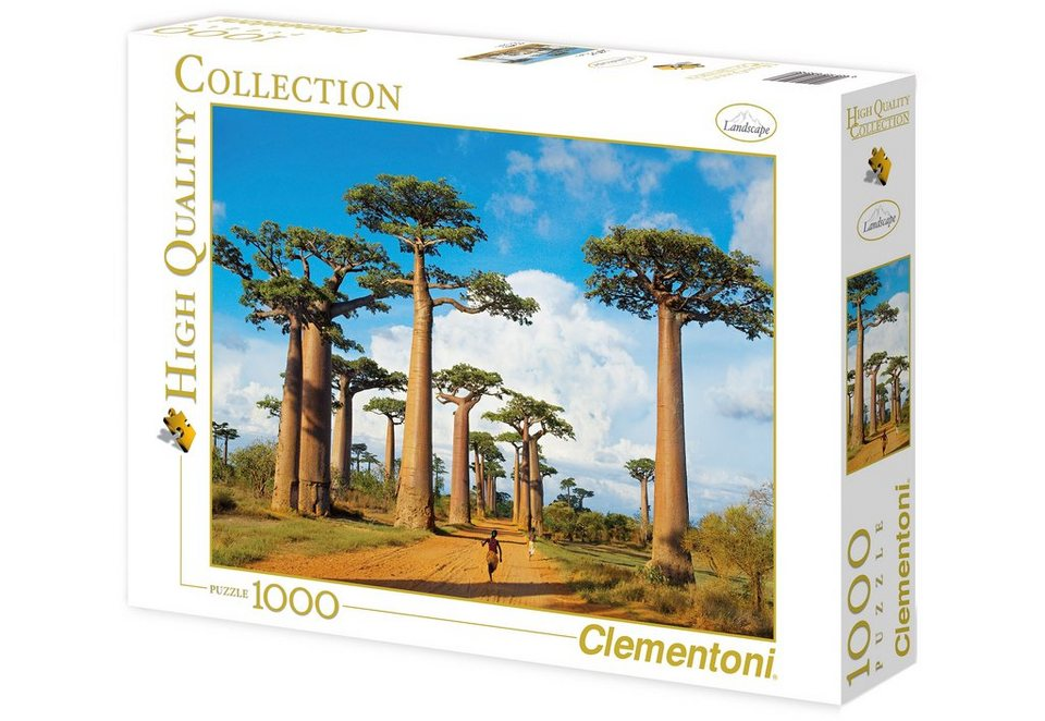 Clementoni Puzzle, 1000 Teile, »Madagascar«