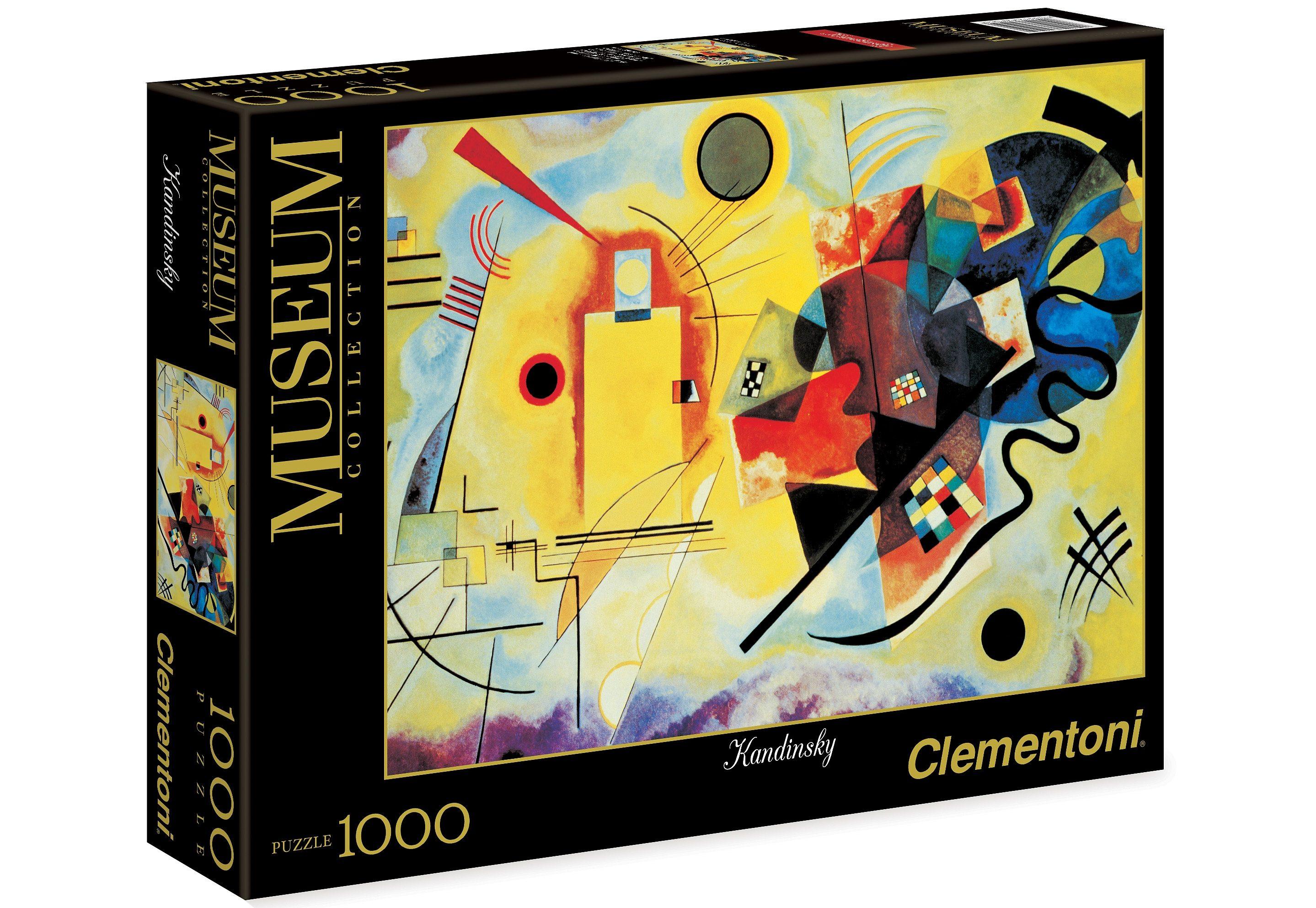 Clementoni Puzzle, 1000 Teile, »Kandinsky - Gelb-Rot-Blau«