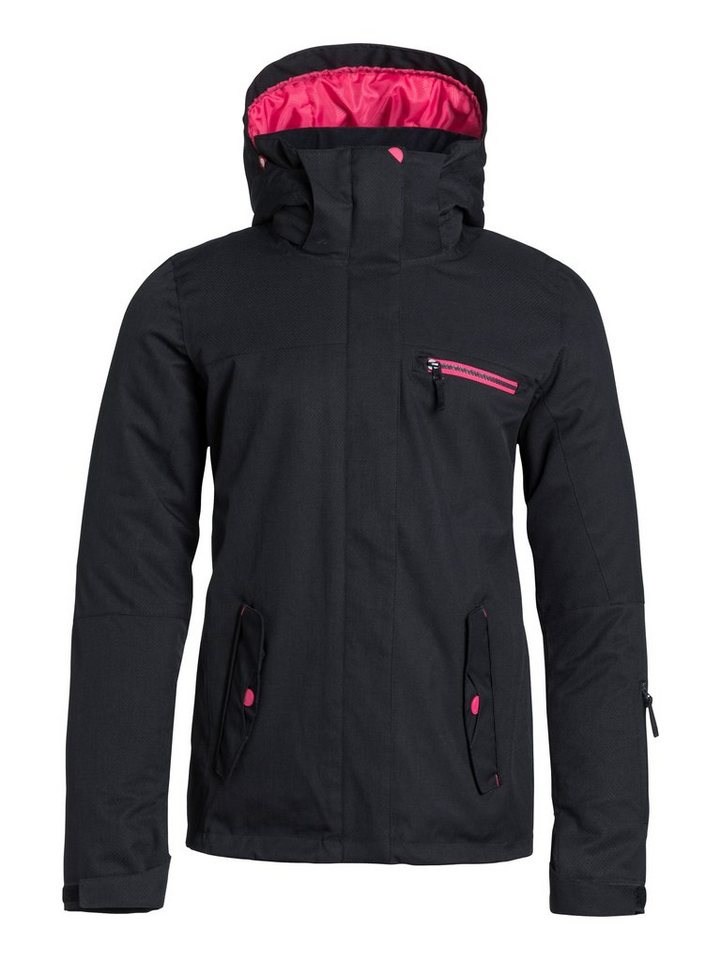 Roxy Snowboard-Jacke »Jetty Solid« in Anthracite