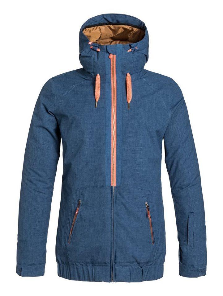Roxy Snowboard-Jacke »Valley Hoodie« in Ensign blue