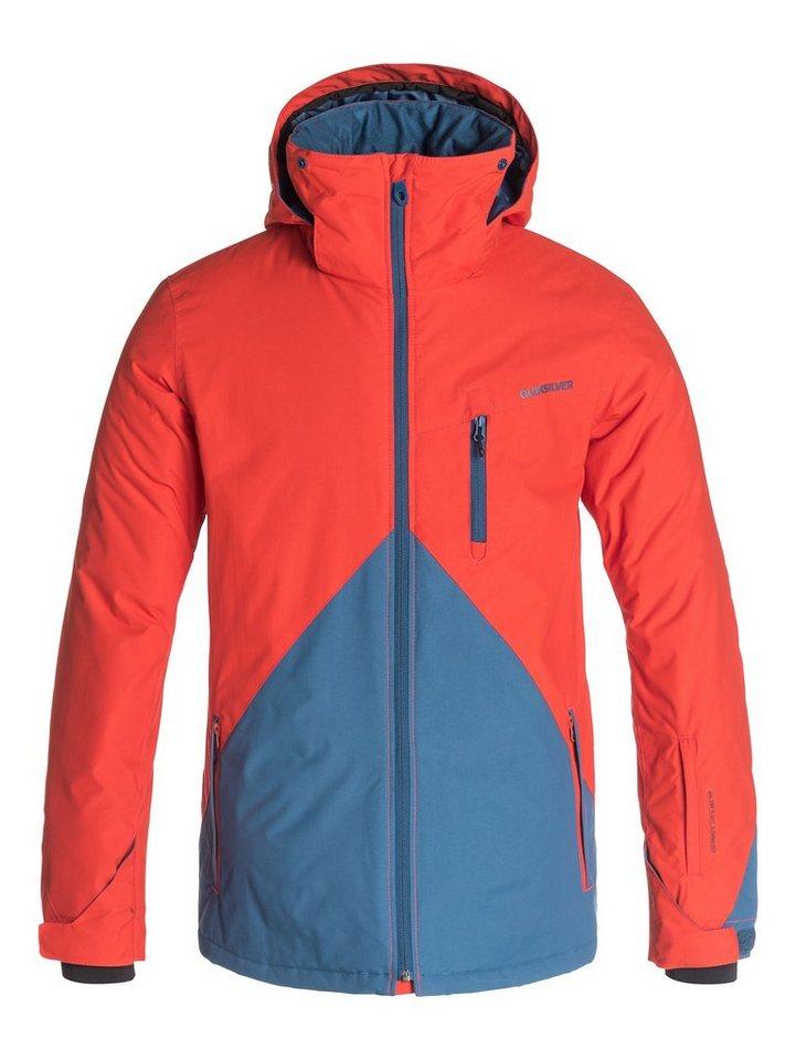 Quiksilver Snowboard-Jacke »Mission Color Block« in Poinciana