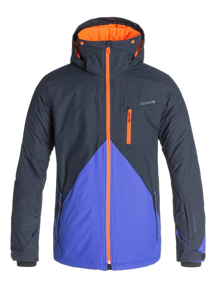 Quiksilver Snowboard-Jacke »Mission Color Block« in Black