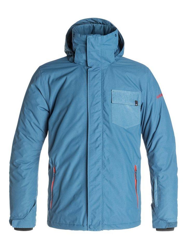 Quiksilver Snowboard-Jacke »Mission Plain« in Dark denim