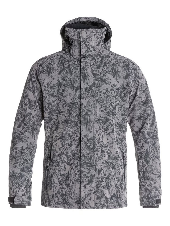 Quiksilver Snowboard-Jacke »Mission Reflective Print« in Angry lion reflective