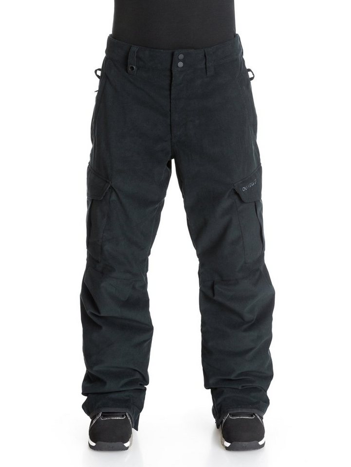 Quiksilver Snowboard Hose »Mission Corduroy« in Black
