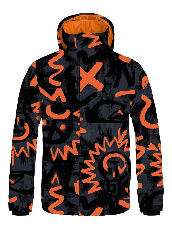 Quiksilver Snowboard-Jacke »Mission Printed« in Cave rave black