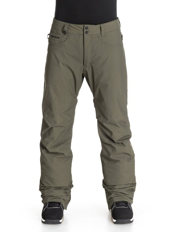 Quiksilver Snowboard Hose »State« in Forest night