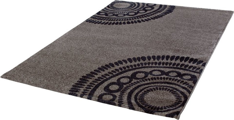 Teppich, b.b home passion, »Balance« in taupe-anthr.