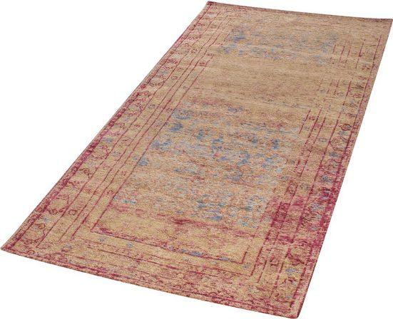Teppich »Antique«, LUXOR living, rechteckig, Höhe 6 mm, Vintage Design, Besonders weich durch Microfaser