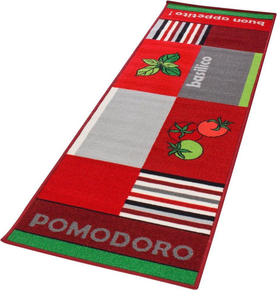 Küchenläufer, Andiamo, »Pomodoro«, getuftet in tomate