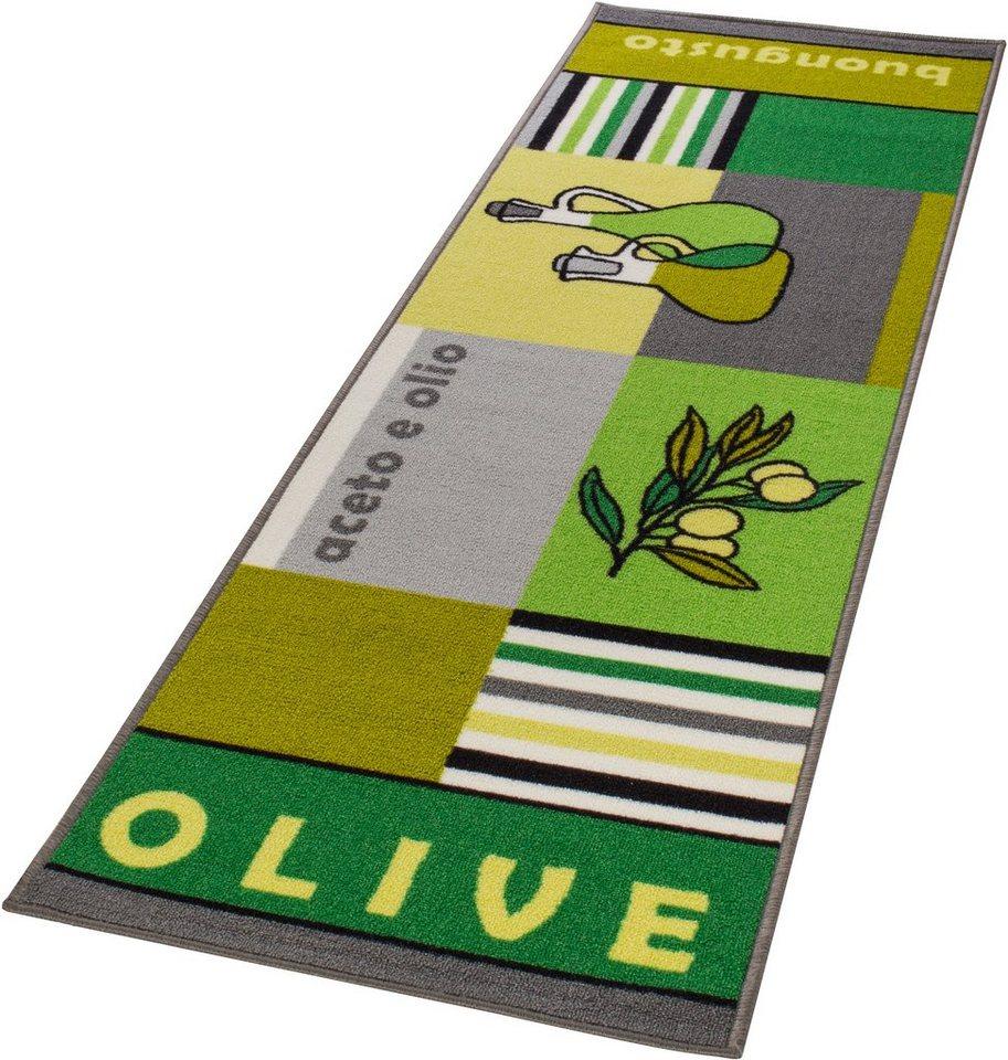 Küchenläufer, Andiamo, »Boungusto«, gewebt in olive