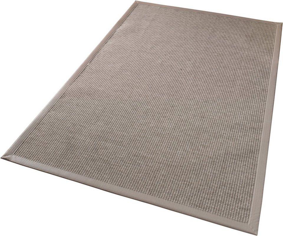 Teppich »Infinite Lines«, In- & Outdoorteppich, Schöngeist & Petersen, Flachgewebe, gewebt in Grau
