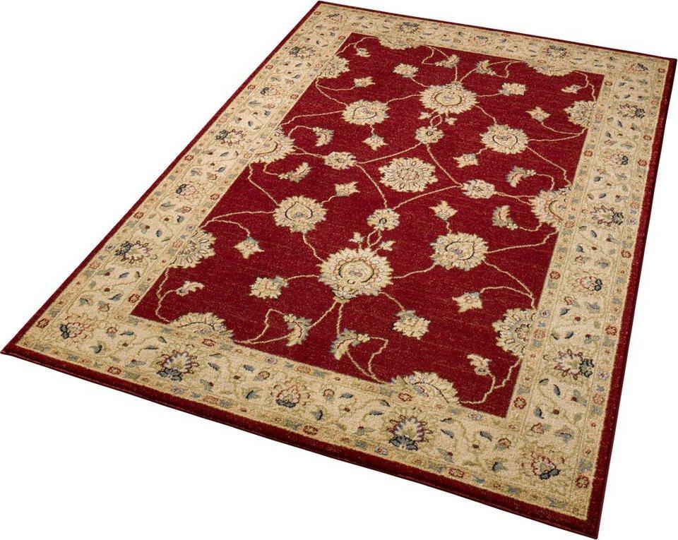 Teppich »Royal«, Schöngeist & Petersen, gewebt, klassisch in Rot
