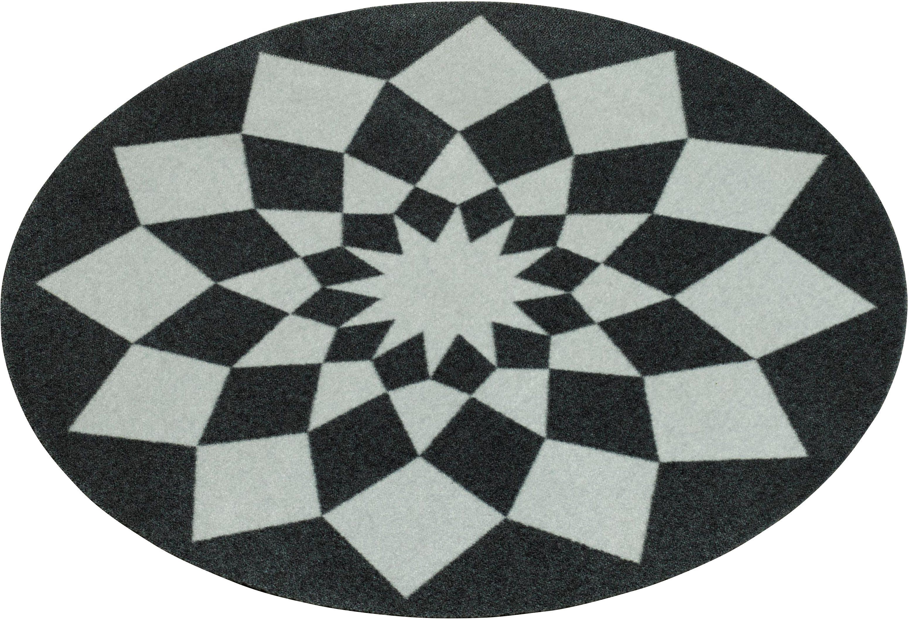 Teppich »Tribal«, rund, Zala Living, getuftet