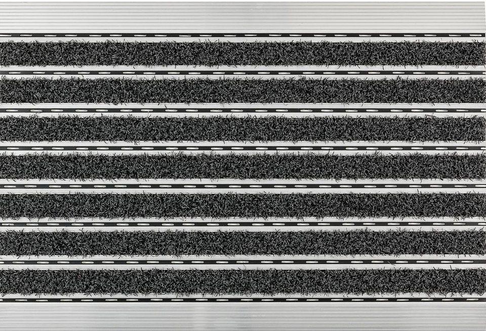 Fußmatte, Astra, »Scraper«, mit Aluminiumrahmen in anthrazit