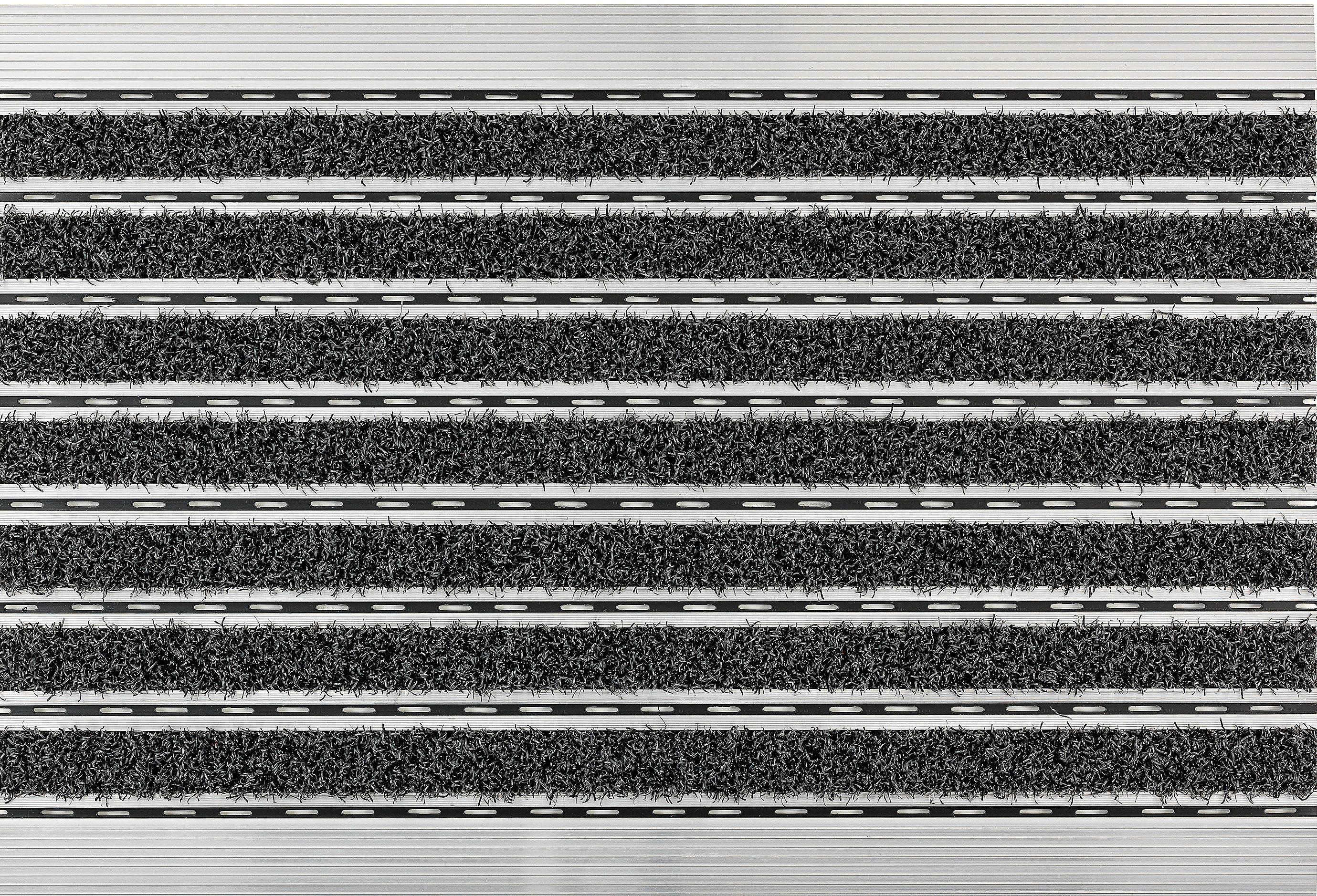 Fußmatte »Scraper«, ASTRA, rechteckig, Höhe 10 mm, mit Aluminiumrahmen