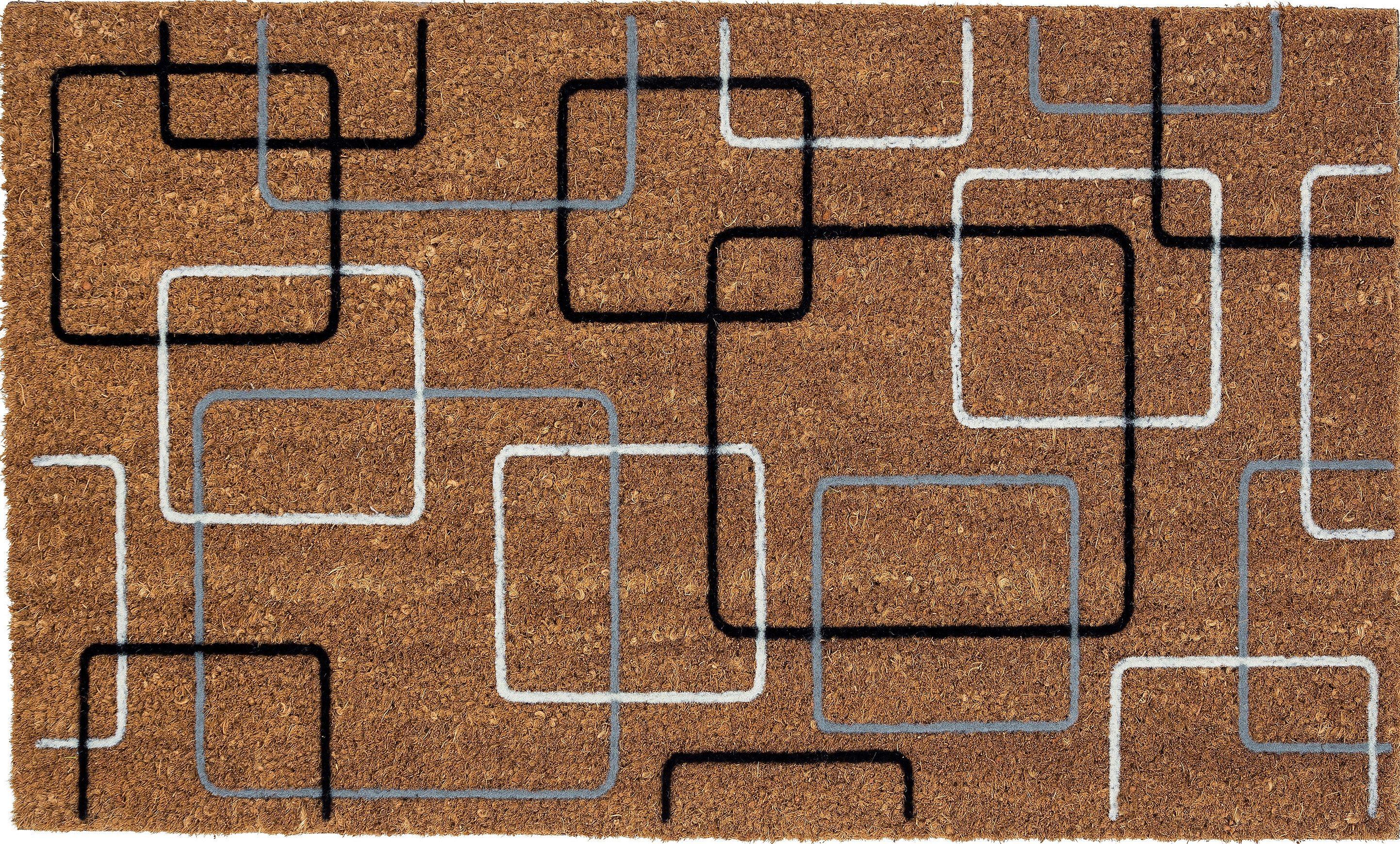 Fußmatte »Coco Retro«, Astra, rechteckig, Höhe 14 mm, aus robustem Kokos