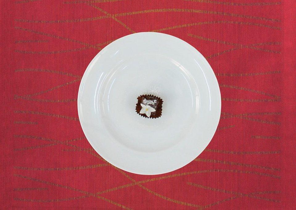 Platzsets, Apelt, »7902 Loft Gold« (1 Stück) in rot