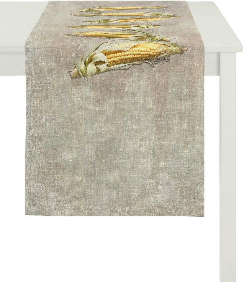 Tischläufer, Apelt, »7913 Mais« in stein gelb