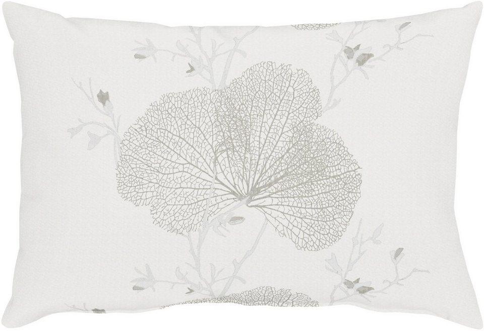 Kissen, Apelt, »7903 Loft Meta« (1 Stück) in weiß/silber