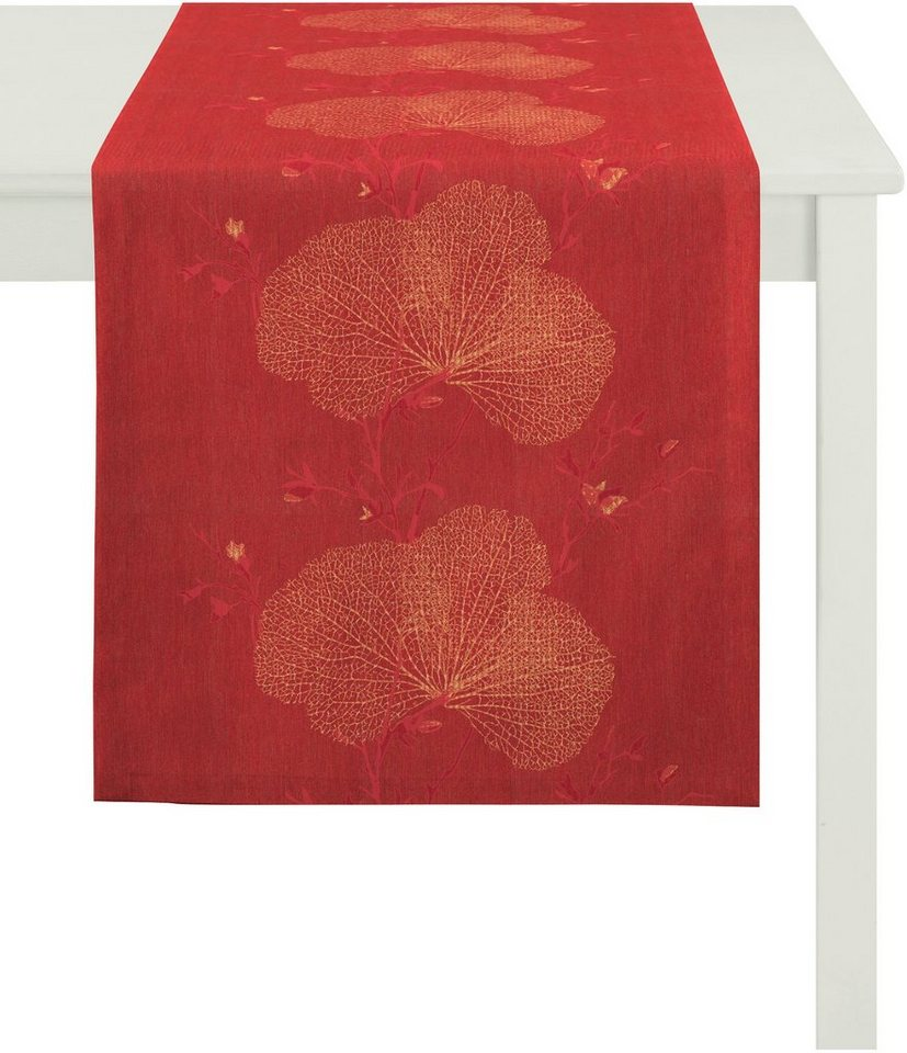 Tischläufer, Apelt, »7903 Loft Meta« in rot